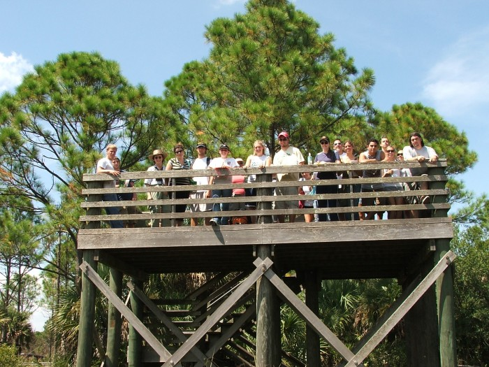 CREW observation tower